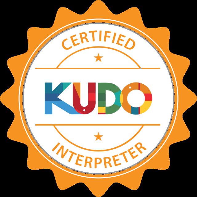 Kudo certified interpreter
